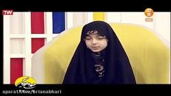 حنانه ۱۰ ساله حافظ کل قرآن کریم