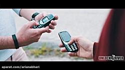 پرتاب Nokia 3310 و New Nokia 3310 از ارتفاع 300 متری