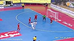 خلاصه فوتسال ایران 4-0 روسیه