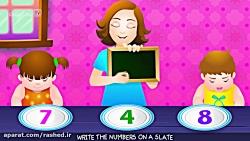آموزش سریع اعداد انگلیسی برای کودکان