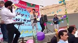 مسعود جلیلیان اجرای زنده آهنگ (تسلیت)درکنار مردم سرپل
