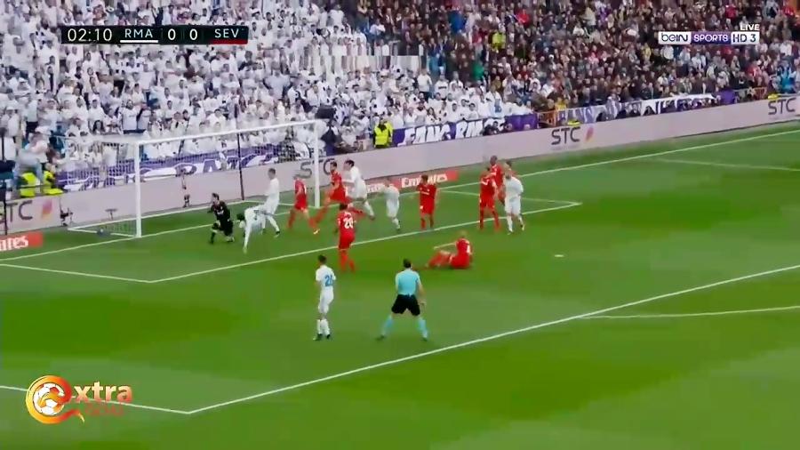 خلاصه بازی رئال مادرید و سویا. با برد شیرین رئال مادرید