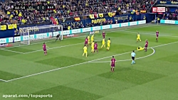 خلاصه بازی ویارئال 0-2 بارسلونا (HD)