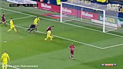 ویارئال 0-2 بارسلونا ( تمام گل ها + هایلایت )