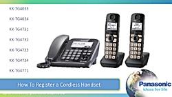 تلفن بی سیم پاناسونیک مدل 2013 ثبت گوشی بی سیم