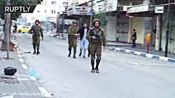 Riots continue: Palestinian security forces use tear gas on protesters in Hebron