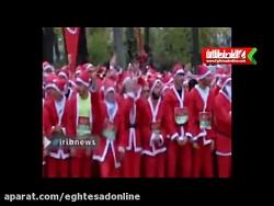 مسابقه دو بابانوئل ها!