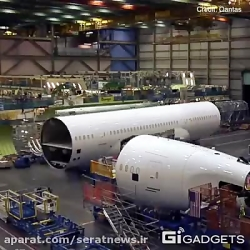 چگونگی ساخت Boeing 787-9