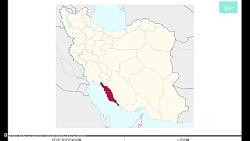 شیپ فایل های استان بوشهر