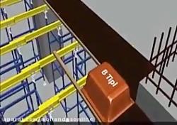 چگونگی اجرای سقف دال مشبک (Green Waffle Slab)