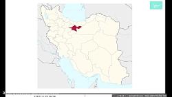 شیپ فایل های استان تهران