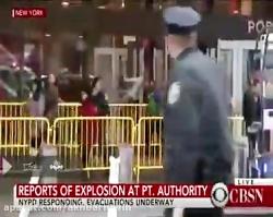 تصاویری از محل وقوع انفجار در نیویورک و تخلیه مترو