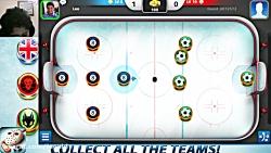 گیم پلی ای از بازیه Hockey Stars پارت (اول)