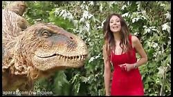 دوربین مخفی فوق العاده خنده دار دایناسور ترسناک