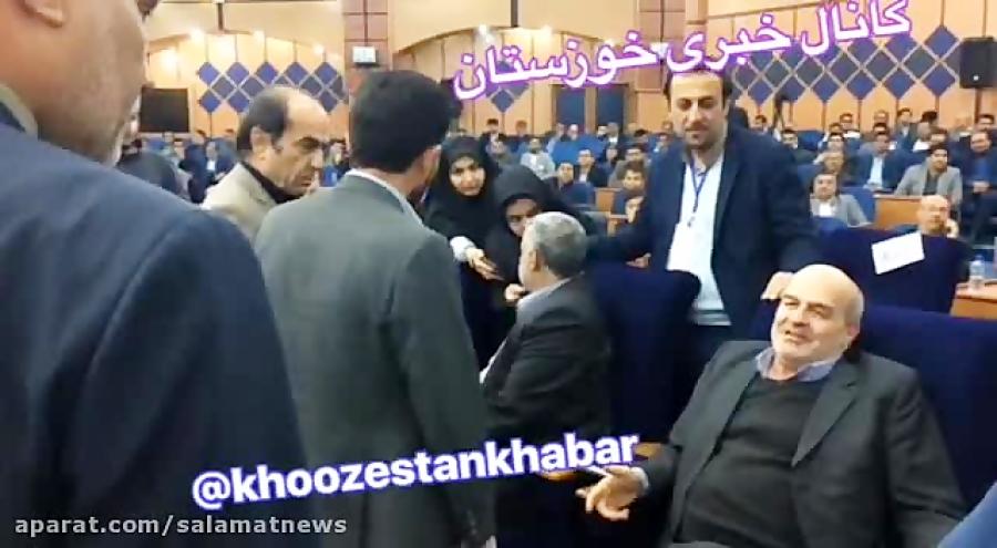 پاسخ توهین آمیز کلانتری به اعتراض نمایندگان خوزستان