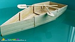 آموزش ساخت قایق با چوب