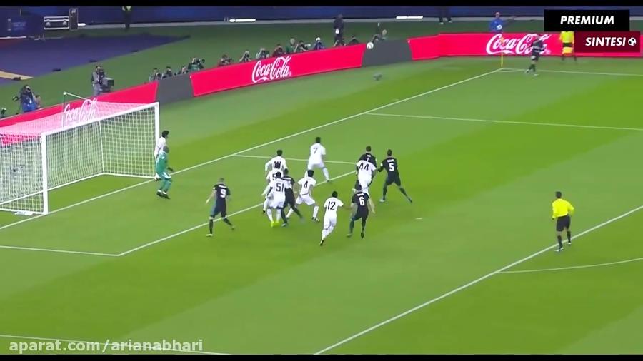 خلاصه بازی رئال مادرید 2 و 1 الجزیره