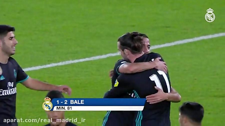 خلاصه بازی رئال مادرید 2-1 الجزیره امارات