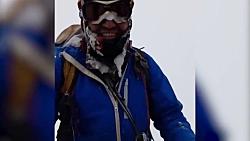 آخرین فیلم از کوهنوردان مشهدی پیش از وقوع بهمن در اشترانکوه