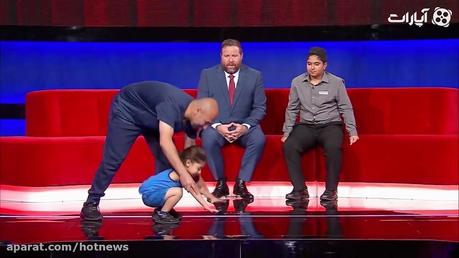 آرات پسر بچه نابغه ایرانی در برنامه تلویزیون استرالیا