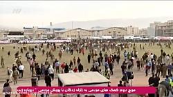 ناتمام ماندن دیدار ستارگان۹۸-منتخب کرمانشاه باهجوم مردم