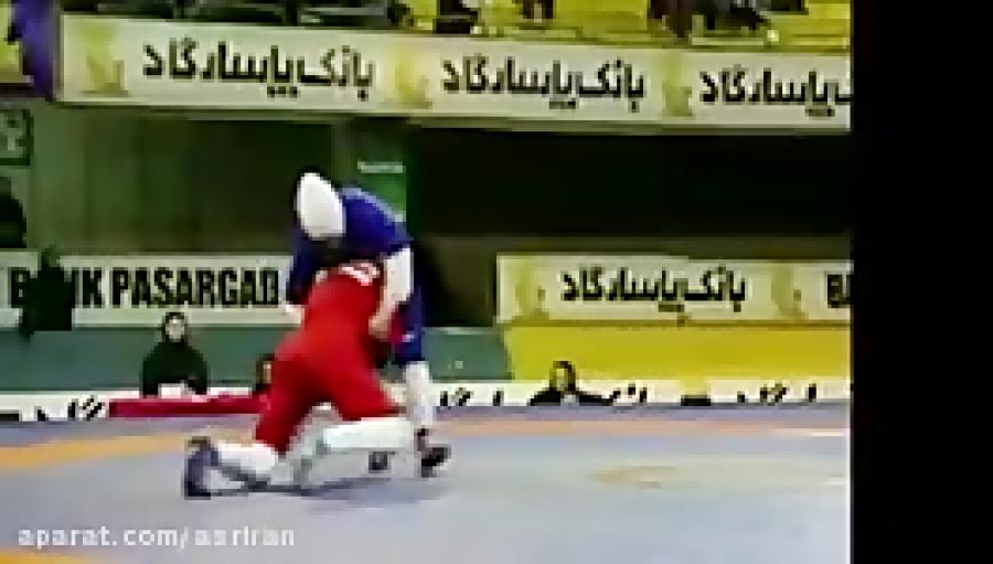 کشتی زنان ایرانی با حجاب اسلامی
