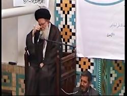 مداحی استاد حاج حسین نقی لو روضه وداع حضرت زهرا س.زنجان