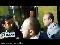 فیلمی دیگر از درگیری و جنجال در حاشیه مجمع فدراسیون فوت