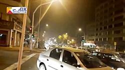 ترافیک شدید در خیابان ا...