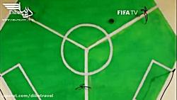 فوتبال سه طرفه چگونه کا...