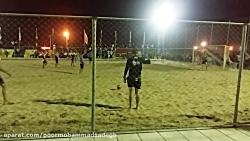 گلزنی امیر حسین پورمحمد در فوتبال ساحلی