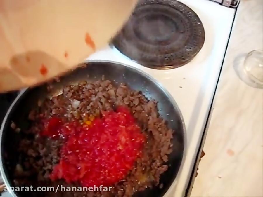 آموزش لوبیا پلو با گوشت چرخ کرده - آسان و خوشمزه