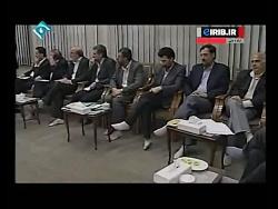 عباس آخوندی جلسه با رهب...