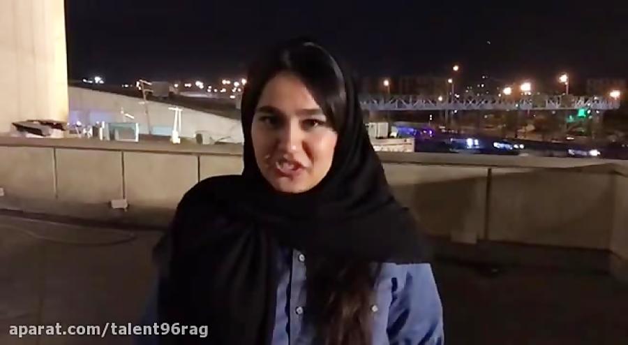 فائزه گودرزی - اعجوبه های 96 - بازیگری