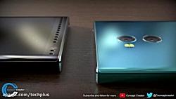 رندر Sony Xperia XZ2 Premium