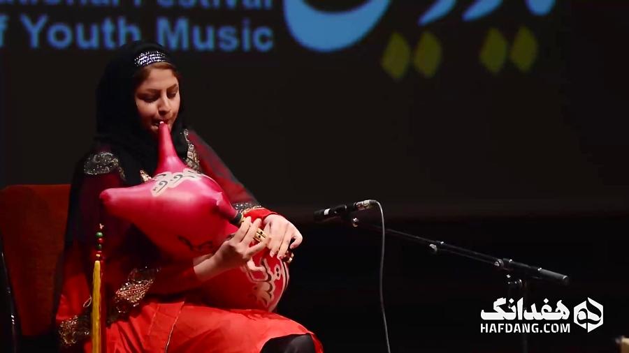 اجرای ساناز یوسفی، نوازنده بوشهری نی انبان