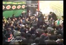 مداحی زیبای استاد حاج حسین نقی لو روز وداع خیمه سرای حضرت رقیه س زنجان.روضه حضرت