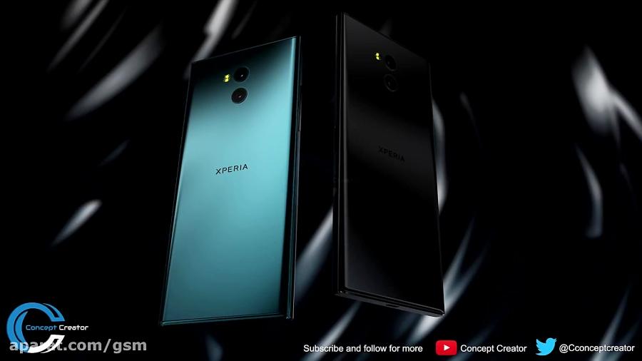 مدل مفهومی Xperia XZ2 Premium سونی