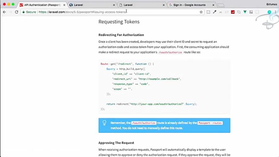 Laravel Passport | | OAuth 2 0 | Get OAuth Token #5
