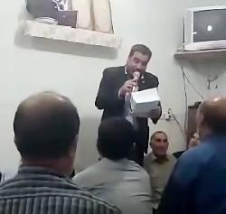 شجاعت خوانی حاج حسین نقی لو شجاعت حضرت ابوالفضل ع.هیات فاطمه الزهرا س زنجانی ها.