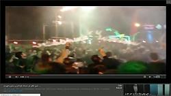 امیر تتلو در دسته عزاداری محرم تهران