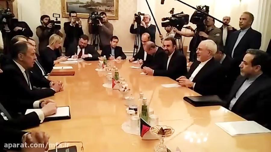 دیدار وزیران امور خارجه ایران و روسیه در مسکو