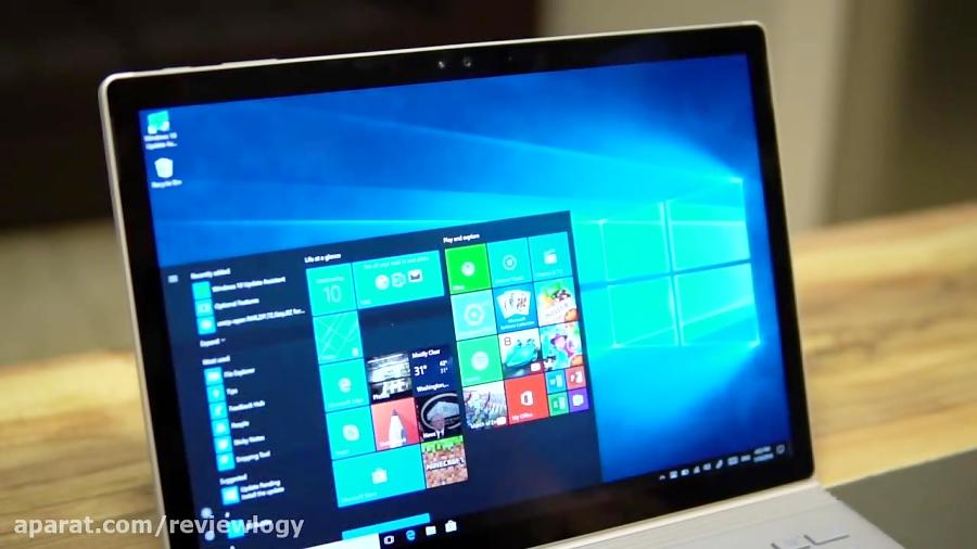 جعبه گشایی و بررسی Surface Book مایکروسافت