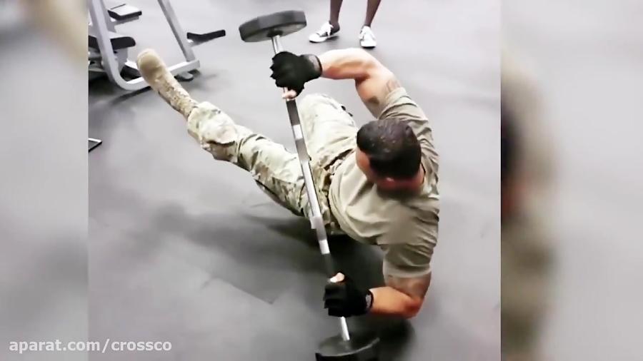 قوی ترین سرباز در مقابل غولترین سرباز ارتش آمریکا