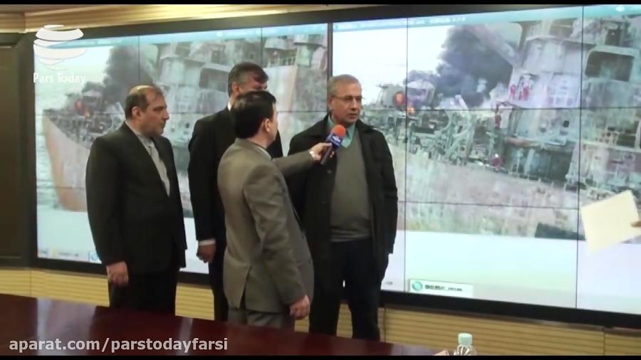 تکاورهای ایرانی در تلاش برای ورود به نفتکش سانچی