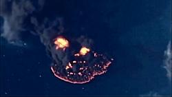 تصاویر هولناک از آخرین لحظات کشتی سانچی