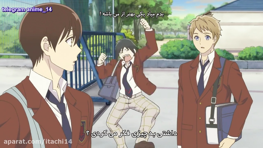 انیمه دخترانه پسران سانریو Sanrio Danshi HD قسمت 1 با زیرنویس فارسی