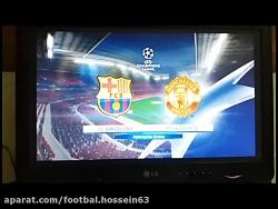 بارسلونا - منچستر یونای...