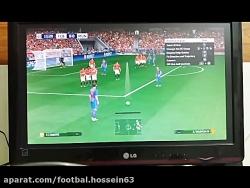 گل اول بارسلونا به منچس...