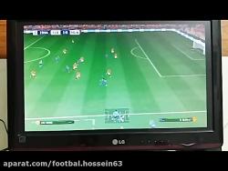 گل دوم بارسلونا به منچس...